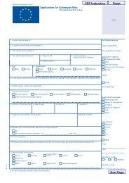 Visa Application Form - VFS Global