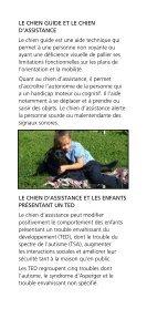 Le chien d'assistance et le chien guide au service des ... - CDPDJ - Page 2