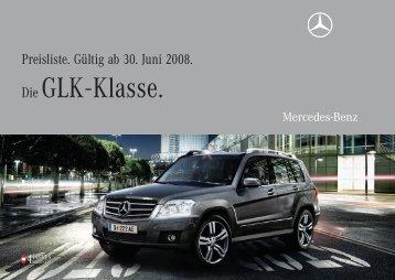 Die GLK - Klasse. - Mercedes Benz