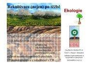 Rekultivace (nejen) - Katedra hydromeliorací a krajinného inženýrství