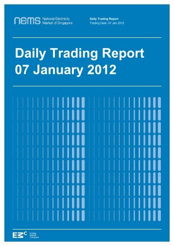 Daily Trading Report 07 January 2012 - EMC
