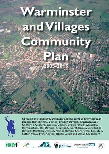 Warminster and Villages Community Plan 2005 - Wiltshire Council