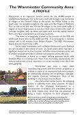 Warminster and Villages Community Plan 2005 - Wiltshire Council - Page 3