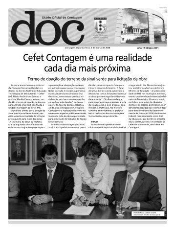 Diário Oficial Nº 2391 - Prefeitura de Contagem