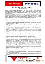Ficha Técnica Geral - JMAF + Megabond