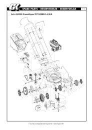 540286 Gressklipper DY194SMB-A 4,5HK