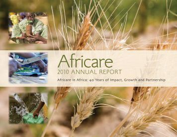 2010 Africare Annual Report