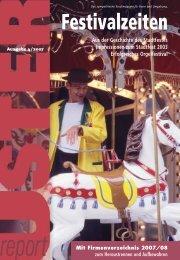 Uster Report Nr. 4/2007 (PDF 3,7 - Stadtfest Uster 2011