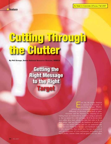 Cutting Through the Clutter - National Ready Mixed Concrete ...