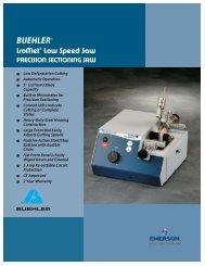 BUEHLER® IsoMet® Low Speed Saw