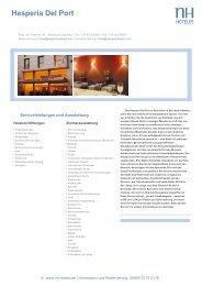 Hesperia Del Port - NH Hotels