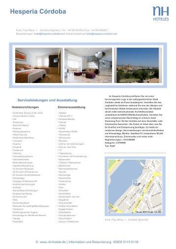 Hesperia Córdoba - NH Hotels