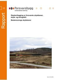 Støyrapport Bestemorenga skytebane.pdf - Forsvarsbygg