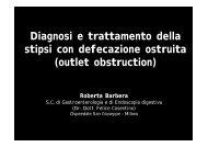 Stipsi con defecazione ostruita (R. Barbera 2008)