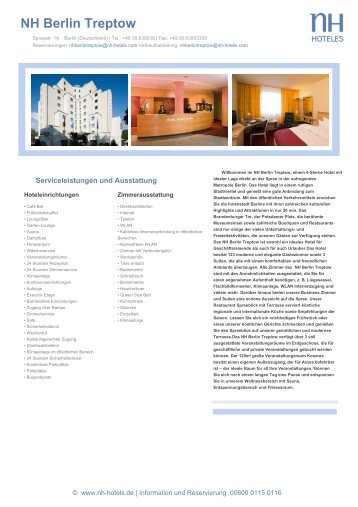 NH Berlin Treptow - NH Hotels