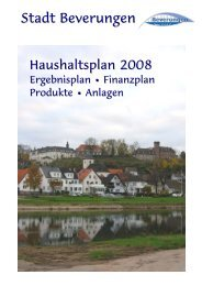 Microsoft Word - Deckblatt2008.doc - Stadt Beverungen