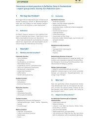 BIGORIO 2003 DYSPNOE - Palliative ch