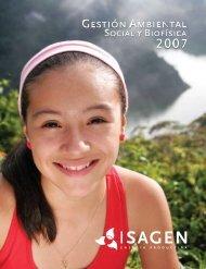 Informe de Gestión Ambiental 2007 - Isagen