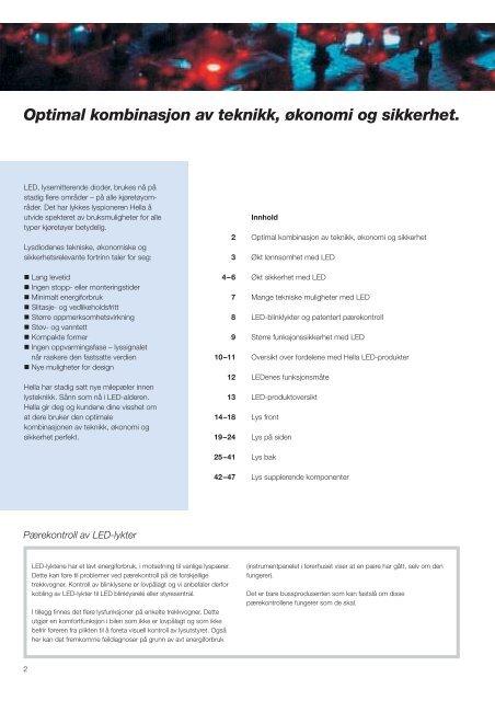 LED-kompetanse fra Hella - Hellanor