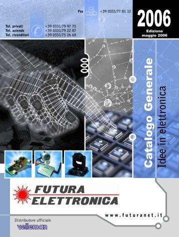 scatole di montaggio - Futura Elettronica