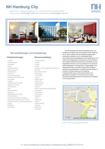 NH Hamburg City - NH Hotels
