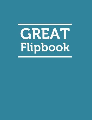 Flipbooks for Girls