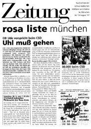 Nr. 19 - Rosa Liste e.V.