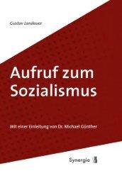 Aufruf zum Sozialismus - Synergia Verlag