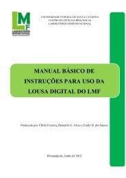 manual básico de instruções para uso da lousa digital do lmf
