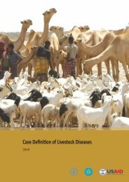 Case definition of livestock diseases - FAO