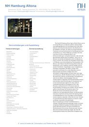 NH Hamburg Altona - NH Hotels