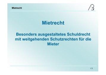 Mietrecht - Prof-rauch-tu-dresden.de