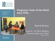 Artículo David Bravo - Universidad de Chile