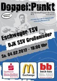 Infos unter www.handball2000.de - Eschweger TSV