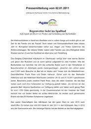 Regenwetter lockt ins Spaßbad - AQUApark Oberhausen