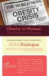 Program - Wisconsin Women's Health Foundation