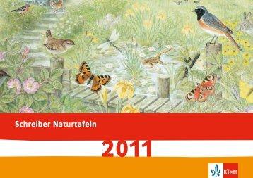 Schreiber Naturtafeln