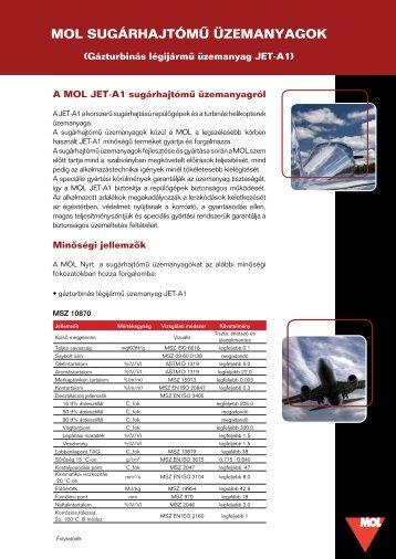 Jet terméklap - Mol