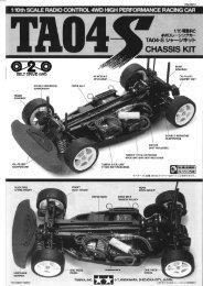Tamiya TA04-S Manual - Wheelsacademy.info