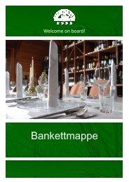 Bankettmappe Ringhotel Tallymann Bad  Nenndorf