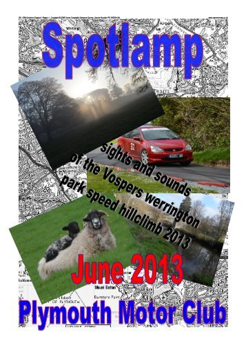June - Plymouth Motor Club