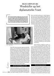 België, Europa en Cuba - Oxfam-Solidariteit