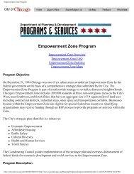 Empowerment Zone Program - Channeling Reality