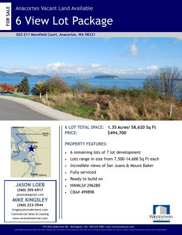 6 View Lot Package