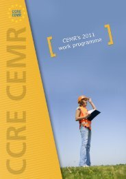 work programme - Council of European Municipalities and Regions
