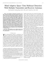 Blind adaptive space-time multiuser detection with multiple - Lane ...
