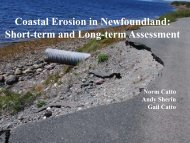 Climate Change Impacts and Adaptation in NL - COINAtlantic
