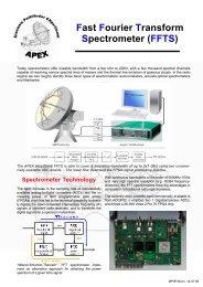 Fast Fourier Transform Spectrometer (FFTS) - Mpifr-bonn.mpg.de