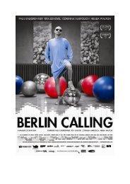 Berlin Calling Pressbook - Festival del film Locarno