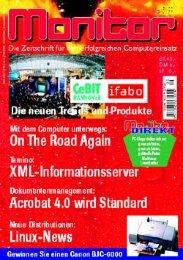 Die komplette MONITOR-Ausgabe 5/1999 können Sie